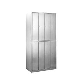 8门平顶带锁更衣柜