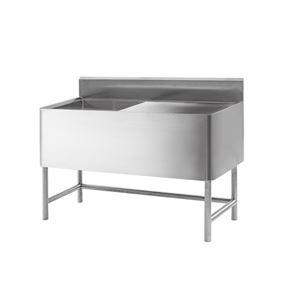 不锈钢双槽水池